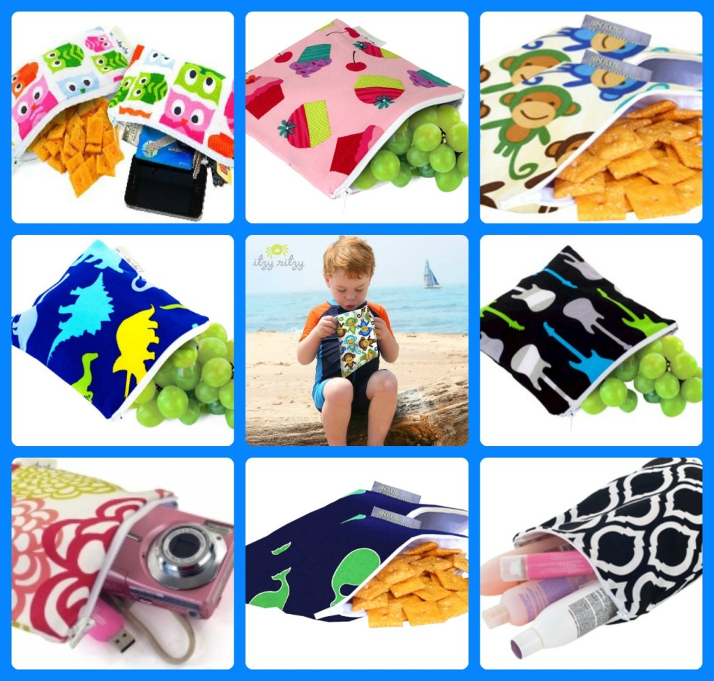 Itzy Ritzy Snack bags at www.notanotherbabyshop.com.au