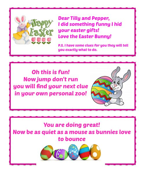 Easter gifts and easter egg hunt part 2 musings from not another easter hunt 2 negle Choice Image