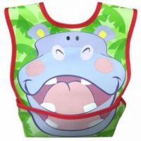 Hippo Pocket Bib For Little Bubs