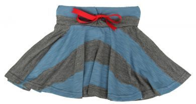 Twirl Skirt with Red Ribbon by Who Wears the Pants
