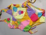 Cupid Girl Rainbow Dots One Piece Swimmers (Last one left size 2)