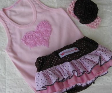 Frilly Tushies - Coco 3 piece Set (Last size Left XL)