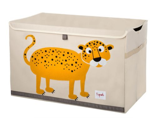 3 Sprouts - Toy Chest - Leopard