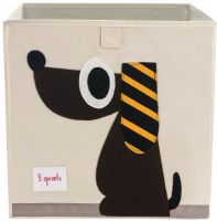 3 Sprouts - Storage Box - Dog