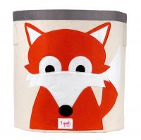 3 Sprouts - Storage Bin - Fox