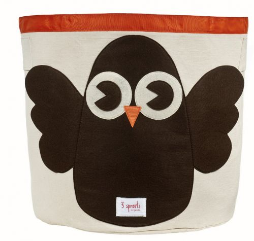 3 Sprouts - Storage Bin - Owl