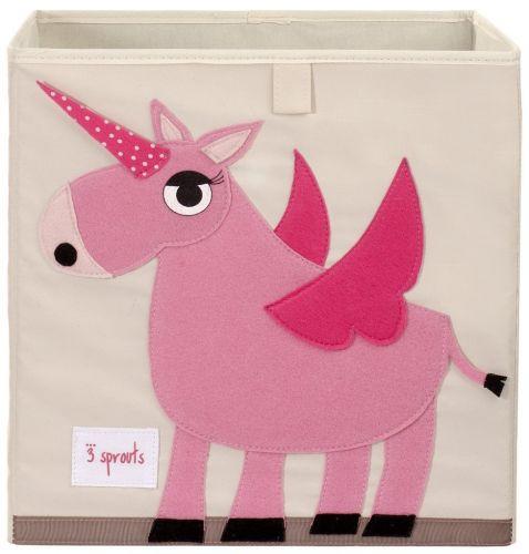 3 Sprouts - Storage Box - Unicorn