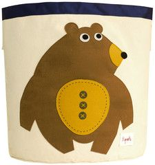 3 Sprouts - Storage Bin - Bear