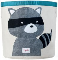 3 Sprouts - Storage Bin - Raccoon