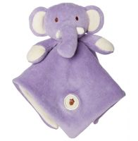 My Natural Organic Cotton Lovie Blanket - Elephant