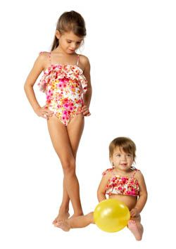 Cupid Girl Romance Frill One Piece (Size 2 & 3)