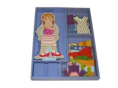 MAGNETIC GIRL DRESSING UP BOX