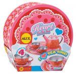 Heart Tin Tea Set