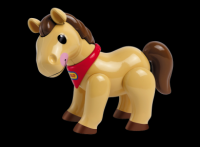 Pony (Pink or Tan) - Tolo Toys