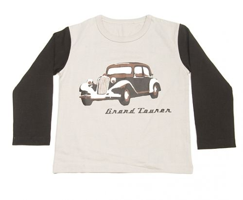 Vintage Car Organic Long Sleeve T-Shirt by Quince