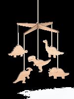 Dinosaur Wooden Baby Mobile