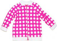 Cupid Girl Pink Dot Long Sleeve Rashie UPF 50+ (Size 00 to 4)