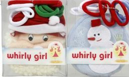 Christmas Coin Purse and Hair Ties - Whirly Girl
