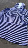 Swim Towelling Cover Ups  - Navy Stripes - Sizes 1-2 & 2-3 years