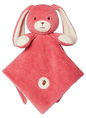 My Natural Organic Cotton Lovie Blanket - Bunny