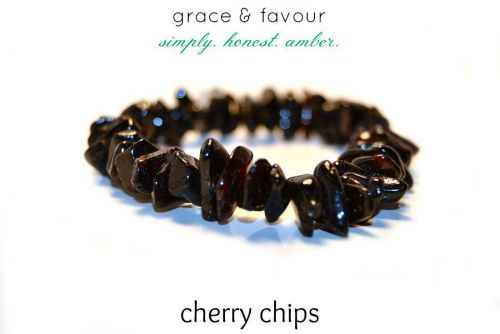 Baltic Amber Teething Necklace - Cherry Chips