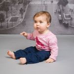 Denim Pants by Quince (only 6-12 mths left)