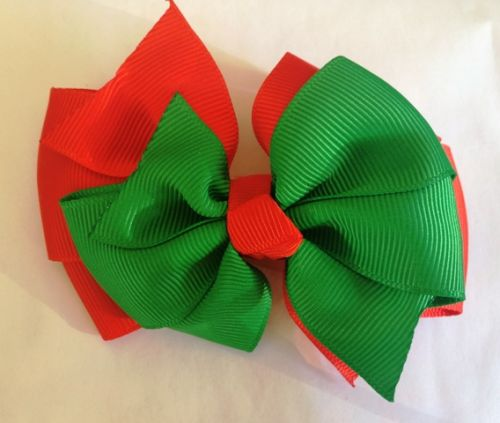 Double Layer Christmas Bow
