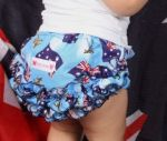 "Frilly Tushies - Aussie ""Matilda"" Nappy Cover"