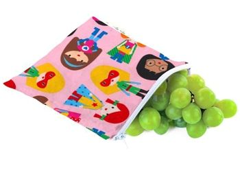 Itzy Ritzy Snack Happens Reusable Snack & Everything Bag - Girl Power