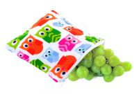 Itzy Ritzy Snack Happens Reusable Snack & Everything Bag - Hoot Hoot