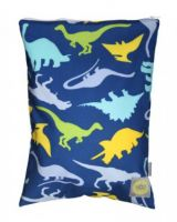 Itzy Ritzy Travel Happens Sealed Medium Wet Bag - Dino-mite!