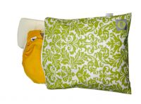 Itzy Ritzy Travel Happens Sealed Large Wet Bag - Damask Avocado