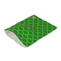 Itzy Ritzy Travel Happens Sealed Medium Wet Bag - Emerald Trellis