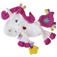 Silver the Unicorn Taggie Comforter