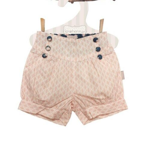 Love Henry Ella Lucy Shorts Pink (Sizes 3 to 8)