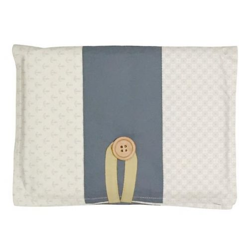 Love Henry Tribal Mustard Essentials Nappy Wallet Gift Set with swaddle and washers