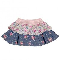 Love Henry Violet Frilly Pilchers Skirt (Sizes 000, 0, 1,7)