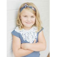 Love Henry Violet Lace Top Navy (Size 00 to 2 and 5)
