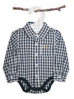 Love Henry Hudson Checked Shirt Romper (only sizes 3 & 9 mths left)
