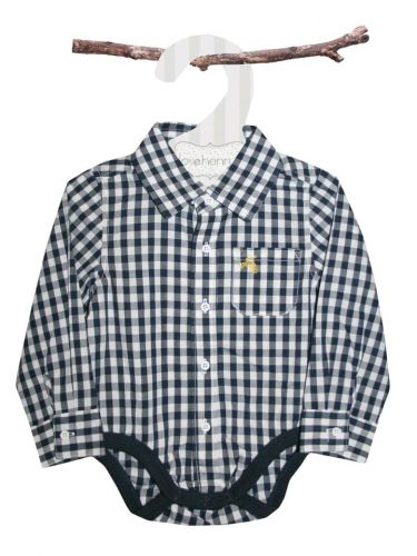 Love Henry Hudson Checked Shirt Romper