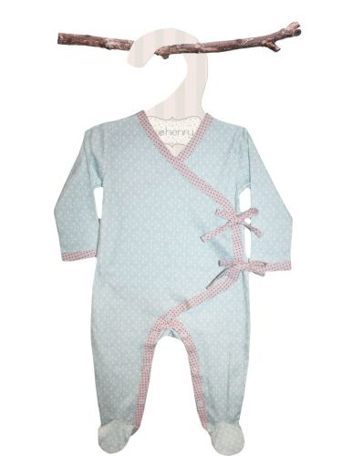 Love Henry Laura Winter Onsie - Blue