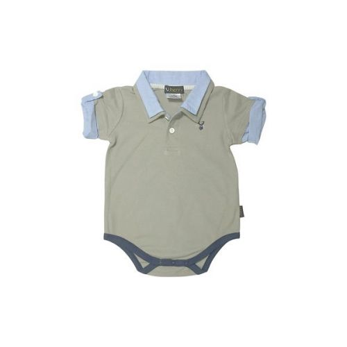 Love Henry Hamptons Austie Romper -Pebble (000 to 2)