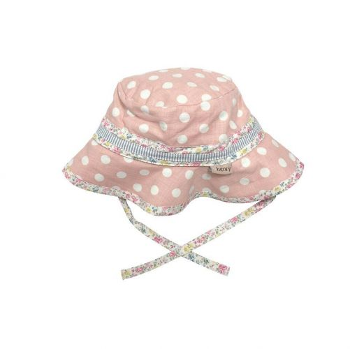 Love Henry Daisy - Pink Spot Toddler Hat