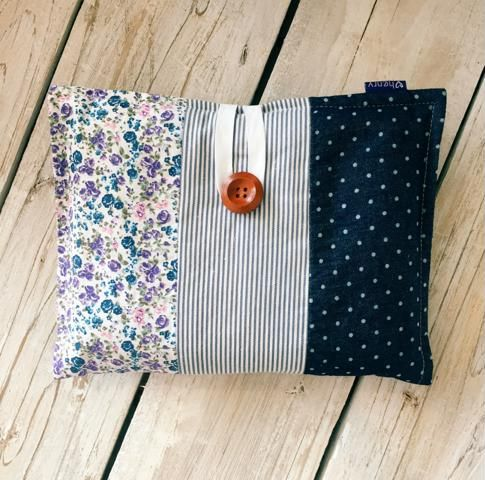 Love Henry Indigo Nappy Wallet Gift Set with Washers and Swaddle