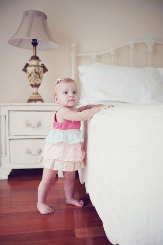 Love Henry Ava Frilly Dress (Sizes 000 to 3)