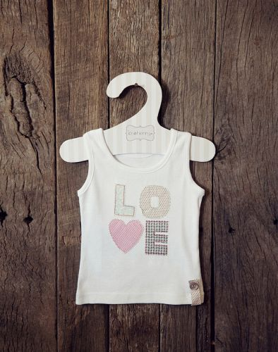 Love Henry Charlie LOVE top (Sizes 000 to 4)