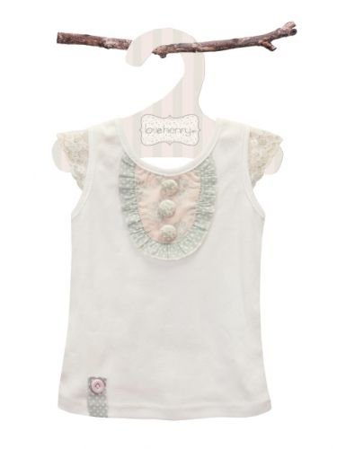 Love Henry Elsie Buttons Top (Sizes 0 to 2)
