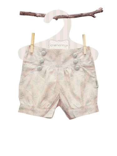 Love Henry Elsie Lucy Shorts Damask (Sizes 0 to 2)