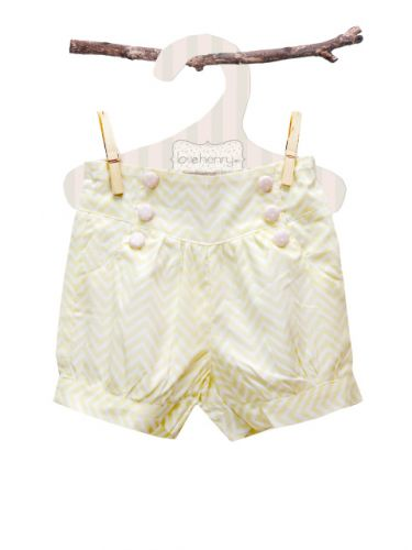 Love Henry Evie Lucy Shorts Chevron (Sizes 0 to 4)
