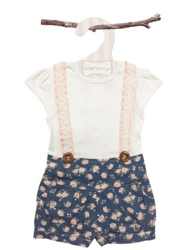 Love Henry Lola Suspenders Playsuit - Ella